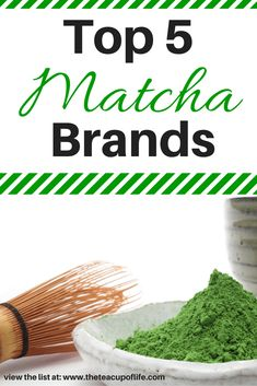 """of the Best Matcha Green Tea Brands Out There Some of the most common questions I get are """"Where do you get your matcha?"""" or """"Matcha is more expensive than I thought. What matcha green tea brand is worth the money?"""" With all the various options out there, Best Green Tea Brand, Best Matcha Tea, What Is Matcha Tea, Japanese Matcha Tea, Japanese Cake, Japanese Food, Matcha Tea Benefits, Matcha Powder Benefits, Best Tea Brands"""