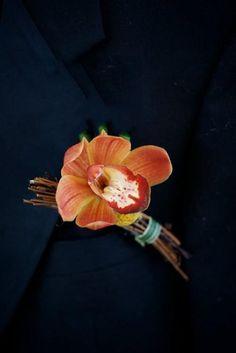 42 Beautiful Fall Wedding Boutonnieres | Weddingomania - Weddbook