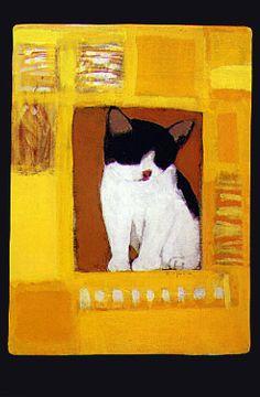 cat : Ryuichi Yamashiro Japanese designer / painter 1920-1997