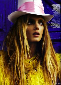Lily Donaldson in Cuzco, Peru by Mario Testino for Vogue UK