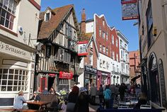 George Street is located in the old town of Hastings and is one of the most popular roads in Hastings. It has some of the oldest inns (public houses) in the town including Ye Olde Pump House, The Hastings Arms and The Anchor Inn, in addition to a lot of speciality shops.