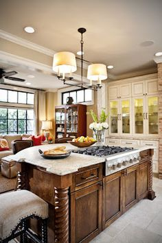 Ornate Kitchens On Pinterest Kitchen Cabinets Black