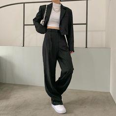 Kpop Fashion Outfits, Edgy Outfits, Korean Outfits, Mode Outfits, Retro Outfits, Cute Casual Outfits, Japan Outfits, Plaid Shirt Outfits, Summer Outfits