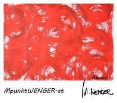 Roter Wirbel Abstract, Swirls, Red, Summary