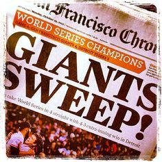 2012 World Series Champions San Francisco Giants! My Giants, Giants Baseball, Fresno Grizzlies, 2012 World Series, Sf Niners, California Love, National League, San Francisco Giants, Diamond Are A Girls Best Friend