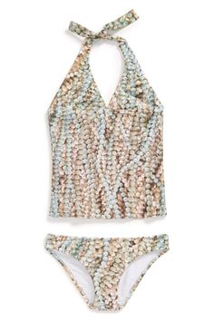 Zara Terez | 'Nana's Pearls' Two-Piece Swimsuit (Toddler Girls & Little Girls) | Nordstrom Rack