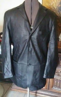 Mens Medium Dress Jacket. Soft Leather, lined. Used once. Retail price $300.