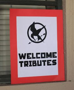 Rachel, Domesticated.: Becca's Hunger Games-Themed Birthday Party