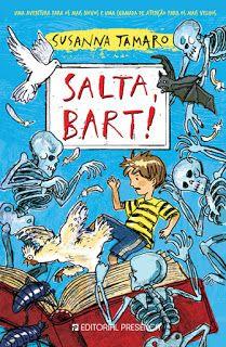 Livros Junior e Juvenil: Passatempo: Salta, Bart!