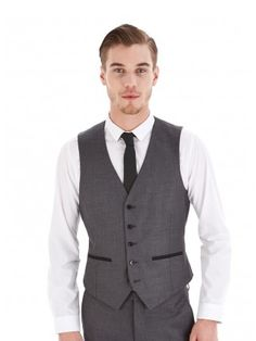 Sorry your search didn't match any products. Skinny Fit Suits, Burton Menswear, Casual Outfits, Fashion Outfits, Men Online, Mens Clothing Styles, Vest, Formal, Grey
