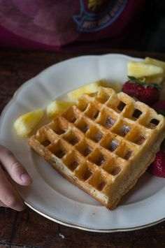 Whole Wheat Waffles    - Perhaps the only waffle recipe you need. Enjoy! - from 101Cookbooks.com