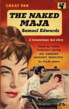 The Naked Maja - Samuel Edwards. Cover art by Sam Peffer.