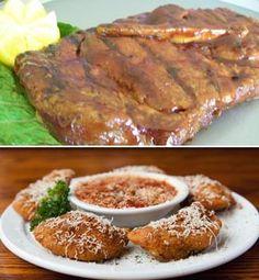 St. Louis food: Pork steaks and toasted ravioli