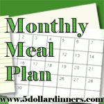 If you haven't discovered Erin Chase's $5 dinners, check out one of her monthly meal plans to see what you're missing