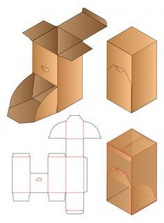 mock-up - Buy this stock vector and explore similar vectors at Adobe Stock Diy Gift Box, Diy Box, Gift Boxes, Box Packaging Templates, Packaging Boxes, Gift Packaging, Paper Box Template, Origami Templates, Box Templates