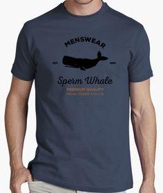 Camiseta Moby Dick. Sperm Whale