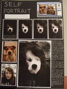 This page documents the process of combinging and editing two images through the use of photoshop. Note the use of print screen to capture the process in the top right hand of the page.