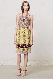 Ginger Dress: mix of fabrics: Dries van Noten inspired