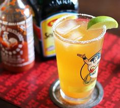 Mix icy cold beer with spicy Sriracha, fresh lime juice and a couple dashes of Maggi sauce and what do you have? A refreshing, terrifically savory beer cocktail with a lingering heat that has become my new favorite summer drink. Meet the Cocky Rooster.