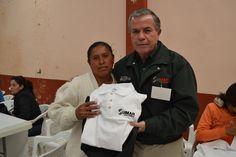 Entrega de material a asesores en Concepción del oro Educación IZEA