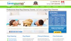 Love Your Rug is Canada's largest rug cleaners offering the lowest prices for quality rug cleaning in Canada. Wisevu built this website using responsive website design, which means it is mobile, tablet, laptop and desktop responsive.