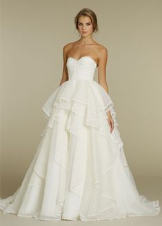 Hayley Paige gown. style HP6205