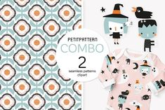 Vector Clipart, Halloween Kids, Home Textile, Fabric Design, Stationery, Clip Art, Branding, Textiles, Pattern