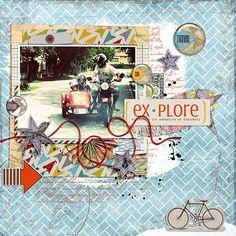 Explore Ferris Wheel, Scrapbook Pages, Explore, Travel, Viajes, Exploring, Trips, Traveling, Tourism