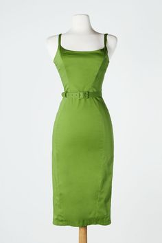 Jayne Dress in Olive Green - Plus Size