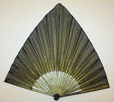 Fan  Date: 1700–1939 Culture: American Medium: silk