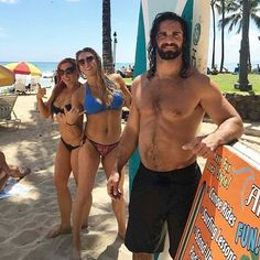 Seth Rollins, Becky Lynch & Charlotte. Rollins has gained weight a bit but obviously because of the injury he wasn't able to do any work out stuff that much. Probably just something that wouldn't have make it worse but I don't know :/