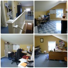 A #secretMW - the upper floors of our houses.  The upstairs of Guy House is office space and staff kitchen!