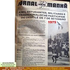 IJUÍ - RS - Memória Virtual: Desfile de 7 de setembro de 1975 em Ijuí... mais…