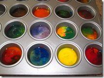DIY Rainbow Crayons!