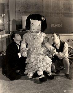 Buster Keaton, Patty Poundcake, and Jimmy Durante