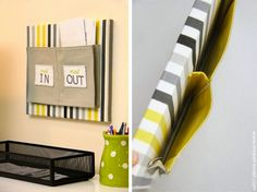 How-To: Fabric Mail Organizer