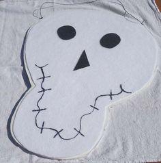 Halloween Skeleton Banner