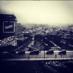Viaduto do Cha - 120 Years (this photo is circa 1928)