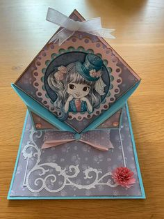 Decorative Boxes, Lily, Cards, Home Decor, Creative Crafts, Creativity, Decoration Home, Room Decor, Orchids