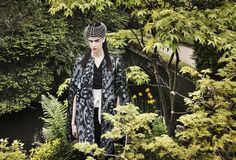 layering and oriental prints evoke kindred warrior spirits and eastern promise. Have a look at www.maven46.com   #editorial #fashioneditorial #japanesegardens #dublin #ireland #orientalexpress