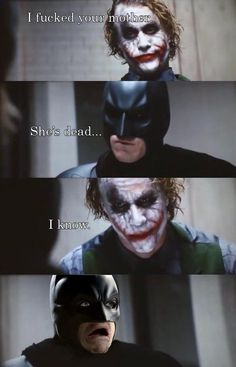 Batman, Joker, Dark Knight, lol, lmao, lmfao, rofl, funny, joke, meme