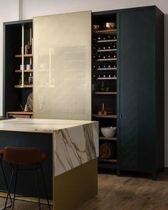 58 most beautiful modern marble kitchen - - # Marble Kitchen most # Home Decor Kitchen, Interior Design Kitchen, Modern Interior Design, Kitchen Ideas, Kitchen Inspiration, Kitchen Colors, Kitchen Designs, Kitchen Hacks, Diy Kitchen