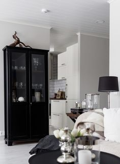 Living room / Black, white and greige / Noora&Noora