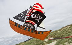 blackbeards ship kite