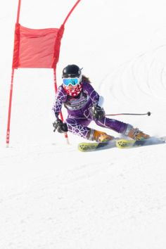 Ski racing... lexi in a few years