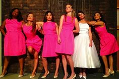 ohhh fun pic with the bridesmaids (copying the Bridesmaids movie!) cc: @Jennifer Heys @Caroline Elie @Laurie Kempton