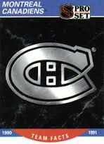 Montreal Canadiens Logo 1935 1947 Old Hockey Gems