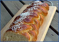 My mama was Finnish.  She baked Pulla Pitko at least once a week.  I would get off the bus a block away from my house and could smell it and knew that when I got home I would have warm pulla with coffee... yep, I drank coffee from the time I was about 4 or 5, another Finnish tradition.  Recipe and site attached...