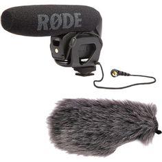 Rode VideoMic Pro Shotgun Microphone and Windbuster Kit B&H | B&H Photo Video