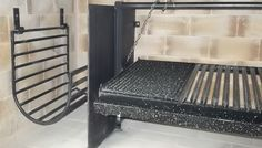 Bbq Grill, Barbecue, Grilling, Parrilla Interior, Barcelona Chair, Barrels, Furniture, Home Decor, Ovens
